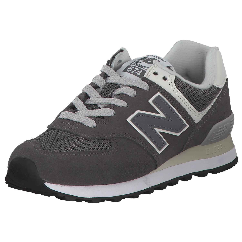 big sale 6a54c 04381 Chaussures de sport New balance WL574 femmes espadrilles 658621-50-122 gris  blanc nouveau