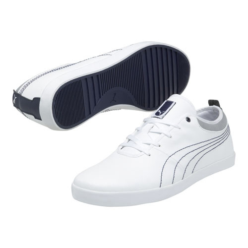 puma damen sneaker schuhe elsu leder 355440 002 weiss turnschuhe ebay. Black Bedroom Furniture Sets. Home Design Ideas