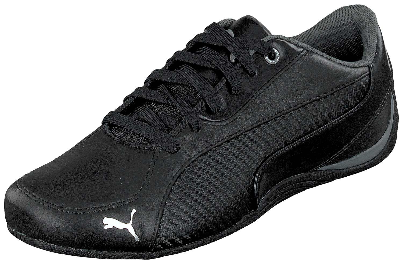 35a048b5aef0 Puma Drift Voiture Baskets pour Homme Chaussures de Course 361137 001 Noir  Neuf