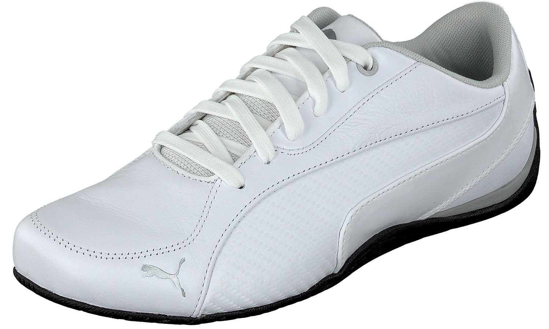 Puma Drift Cat Sneakers Uomo Scarpe da corsa Ginnastica 361137 003 Bianco NUOVO