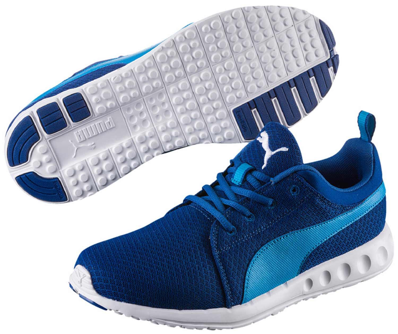 sneakers for cheap e36d0 3b3be Puma Carson Mesh Herren Sneaker Blau - sommerprogramme.de