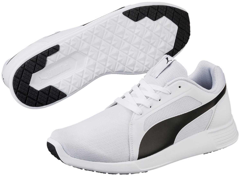 Puma pz. Scarpe da ginnastica Evo Sneakers Uomo corsa 359904 021 Bianco NUOVO