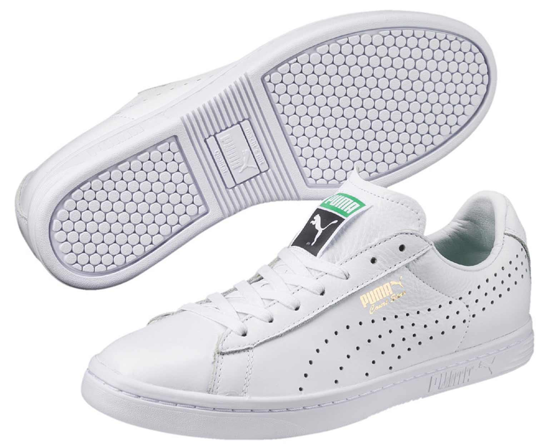 PUMA Court Star Uomo Sneakers Scarpe da ginnastica Scarpe da corsa 357883 001 Bianco Nuovo