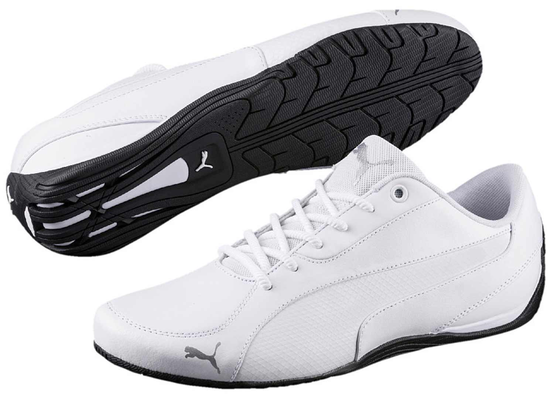 PUMA DRIFT CAT Uomo Sneakers Scarpe da ginnastica Scarpe da corsa 362416 003 Bianco Nuovo