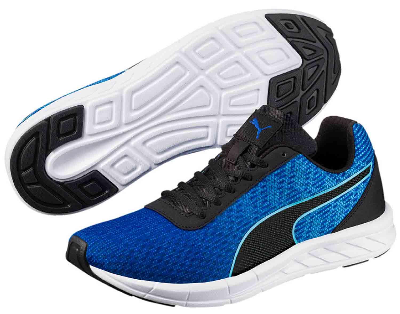 Puma COMET Runner Uomo Sneakers scarpe 189966 003 NERO BLU NUOVO