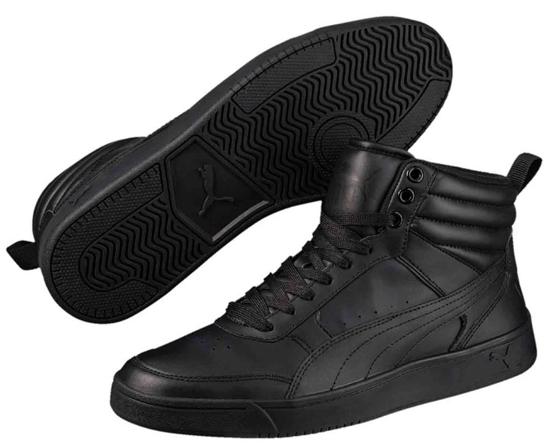 quality design e23a1 88d5e Invernali Rebound 363716 Scarpe Puma Uomo Nero 001 Sneakers Street qOxOfwX
