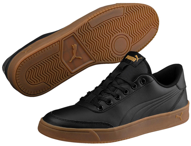 PUMA Court Breaker Sneakers Scarpe corsa da ginnastica Scarpe da corsa Scarpe 364976/005 Nero Nuovo b490f7