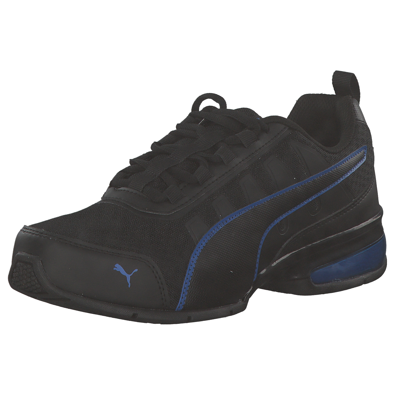 PUMA Uomo Sneakers Scarpe da ginnastica Scarpe da corsa 365292 04 Nero Blu Nuovo
