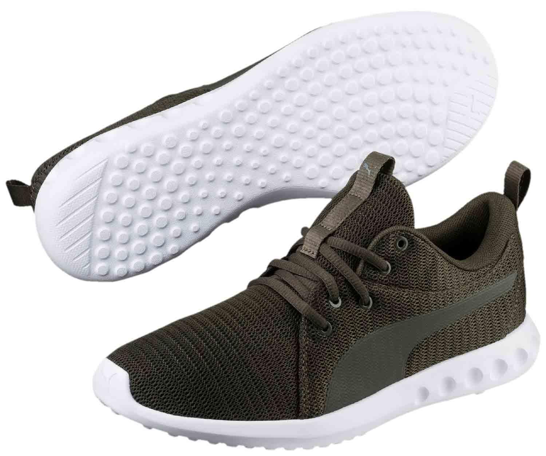 Puma Carson Sneakers Scarpe da corsa Ginnastica 190037/007 verde foresta NUOVO