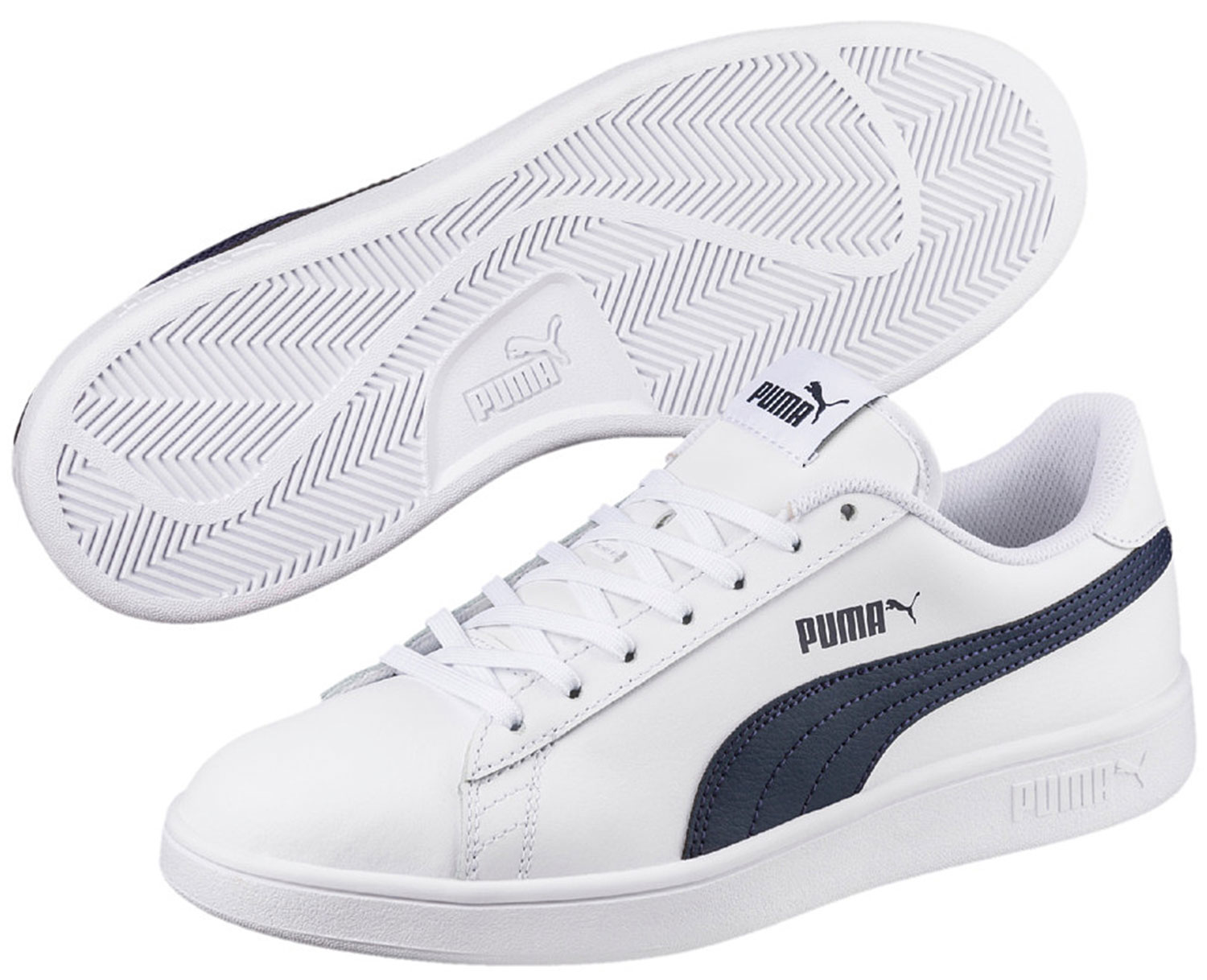 Smash Running Shoes Blue Sneakers 365215002 Trainers New About White Details Puma WCBerdxQo