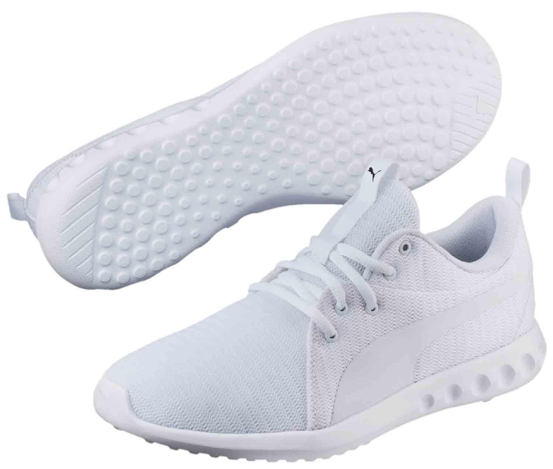 Details zu Puma Carson Sneakers Turnschuhe Laufschuhe 190037008 Weiß Neu