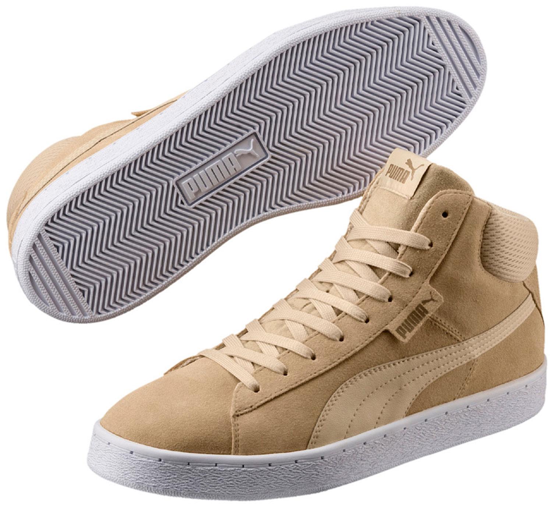 PUMA 1948 Uomo Sneakers Scarpe da ginnastica Scarpe da corsa 359138/018 Beige Nuovo
