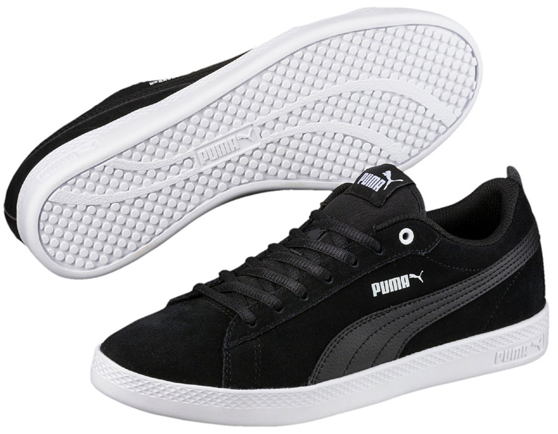 Puma Smash donna sneakers Scarpe da corsa Ginnastica 365313/001 Nero NUOVO
