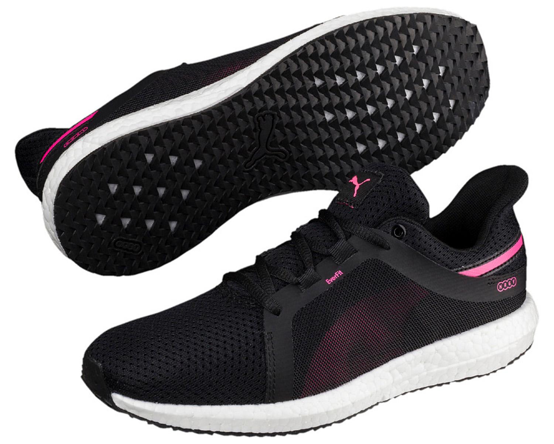 Puma Damen Sneakers Turnschuhe Sportschuhe 190944 006 Schwarz Pink ... 8a7c928b61