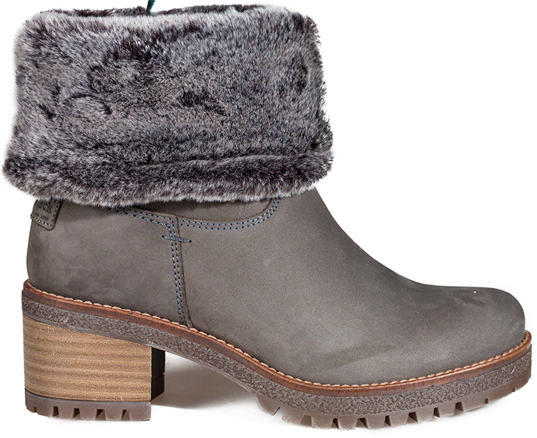 3b03d6813a7c63 Panama Jack Piola B15 Damen Stiefel Boots Winterstiefel Grau Beige Leder Neu
