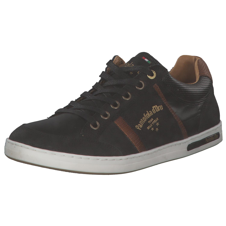 Pantofola D 'oro MONDOVI uomo scarpe da ginnastica tempo libero 10181015 25 Y Nero Marroneee Nuovo