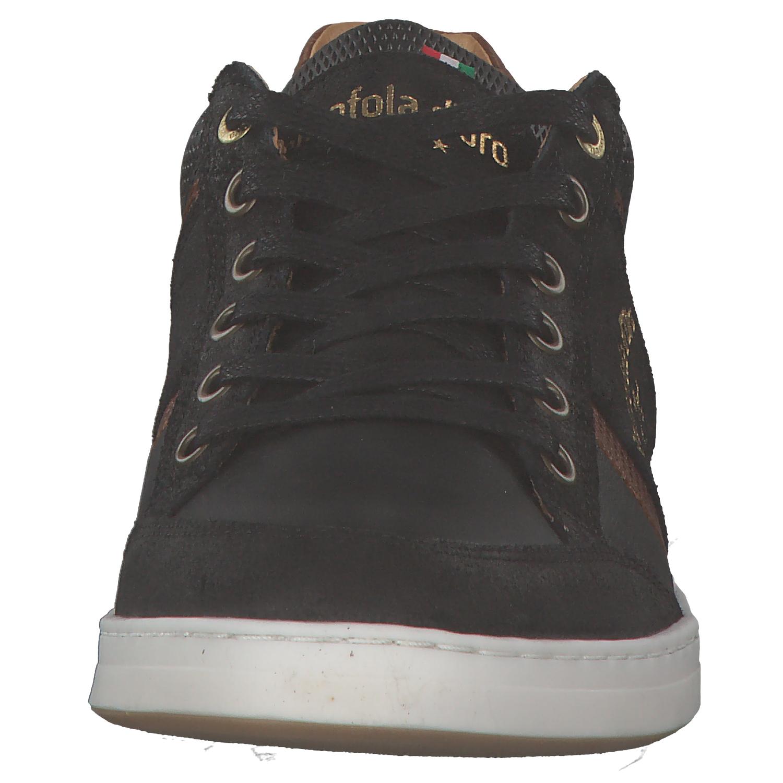 Pantofola d/'Oro Mondovi Hommes Baskets Loisirs 10181015 25 Y Noir Marron Nouveau