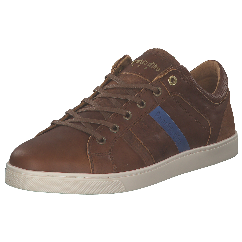 Pantofola D´oro Enzo Uomo Herren Sneakers Freizeit 10181017 Jcu Braun Neu