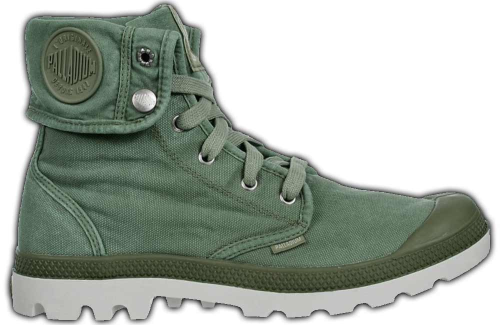 Palladium Damenschuhe Stiefel Boots Baggy 92352 088 m Grau Canvas