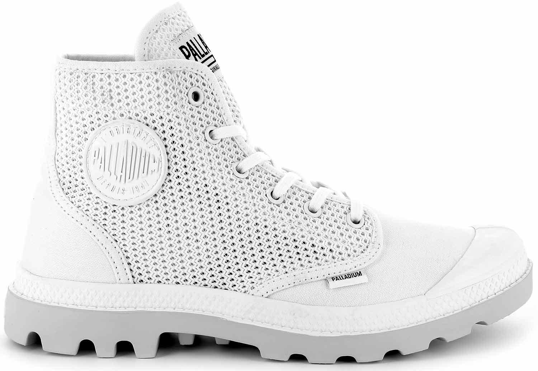 Palladium-us-Pampa-zapatos-botas-botas-casual-75751-131-m-blanco-nuevo