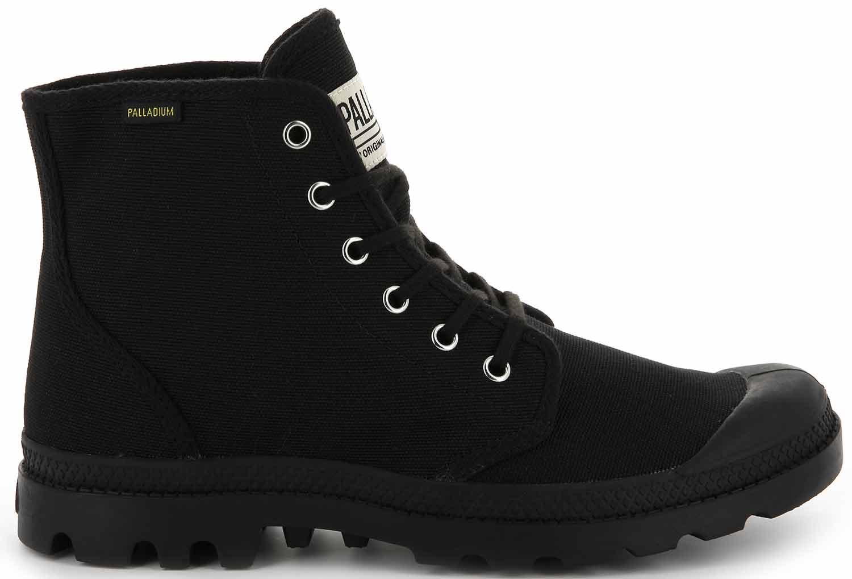 Palladium Pampa Schuhe Boots Stiefel Freizeit 75349-060-m Schwarz Neu