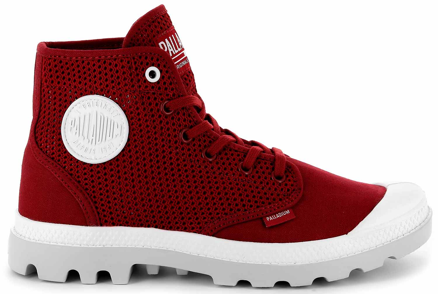 607 Loisir Chaussures Rouge Pampa M 75751 Piment Bottes Palladium vtXnwt