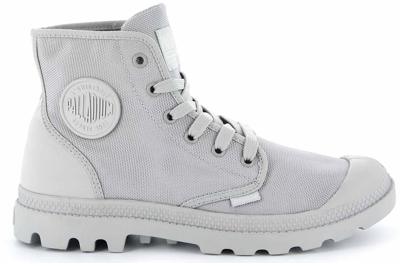 Palladium-Mono-Chr-Zapatos-Botas-Informal-75330-029-m-Gris-Nuevo
