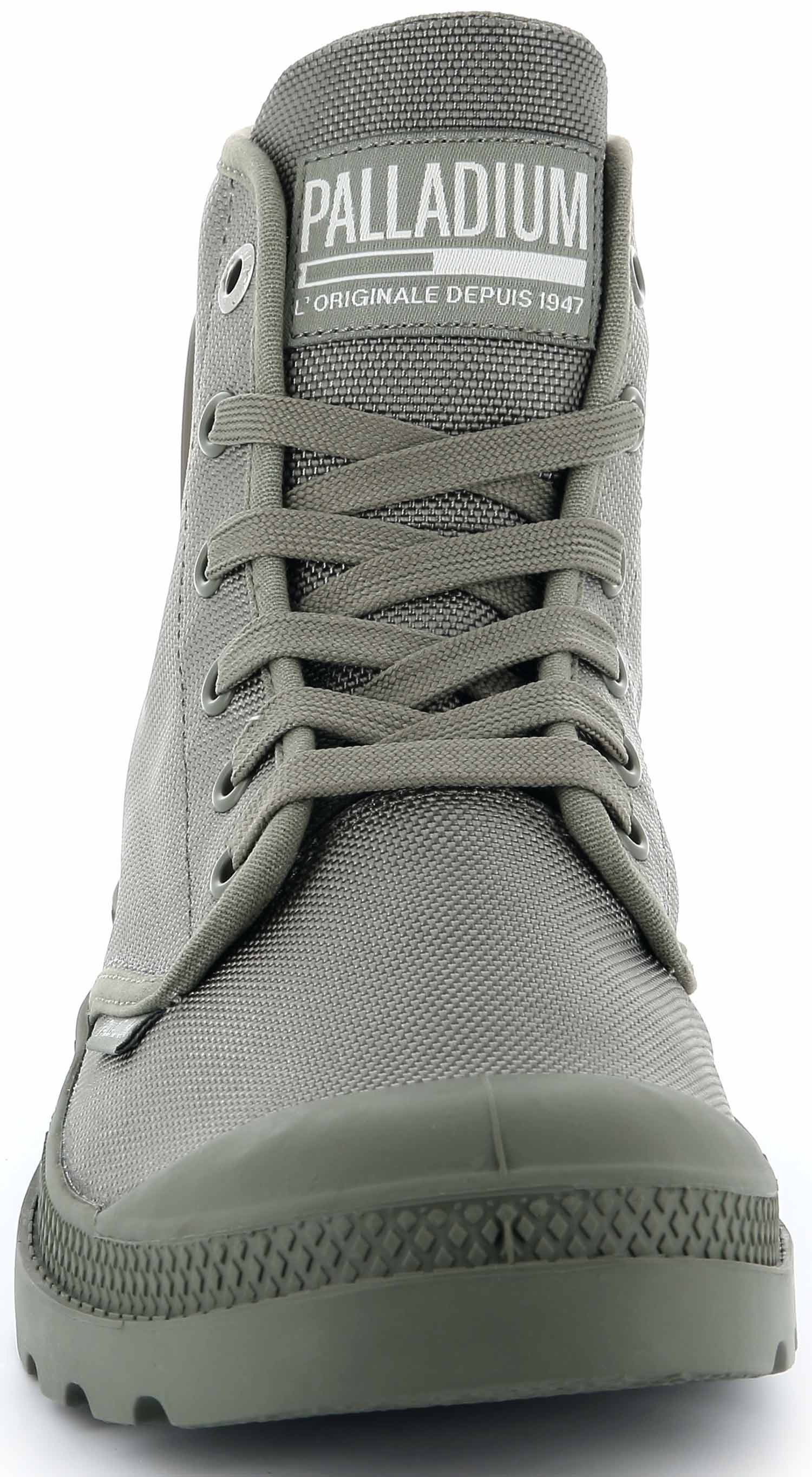 Palladium-mono-Chr-zapatos-botas-botas-casual-75330-339-m-gris-vetiver-nuevo