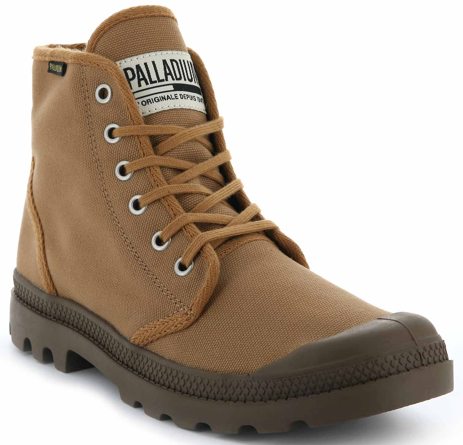 Palladium Pampa Hi ORIGINALE bottes chaussures haut top Baskets unisexes Baggy