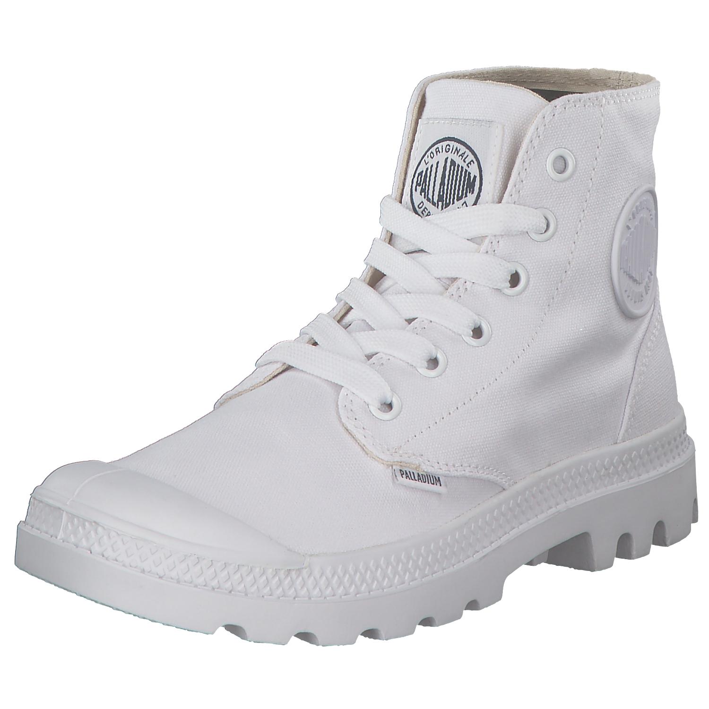 Zapatos especiales con descuento Palladium Pampa Schuhe Boots Stiefel Freizeit 72886-154-m Weiß White Neu