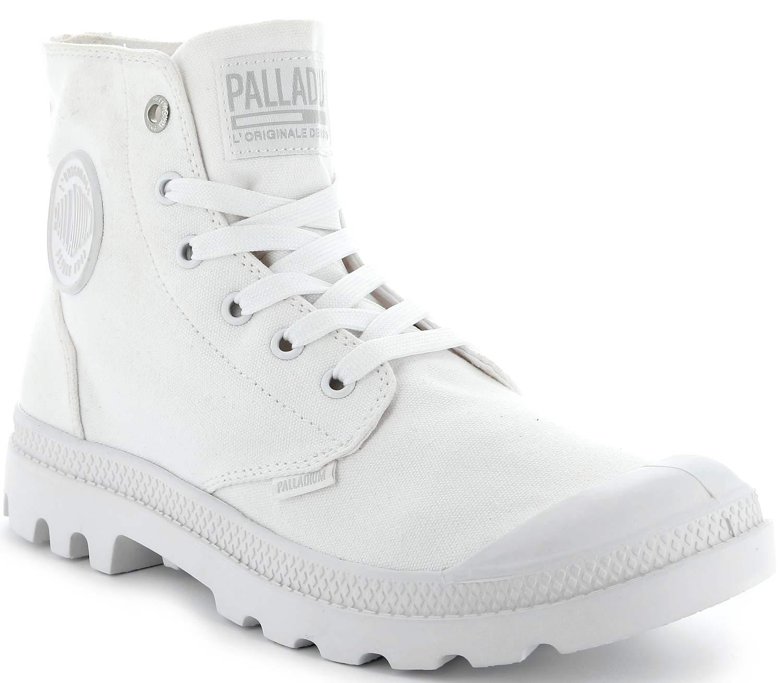 Palladium Pampa Schuhe Boots Stiefel Freizeit 73089-129-m Weiß White Neu