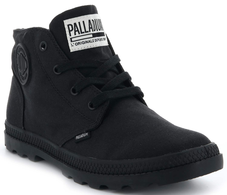 Palladium Pampa Free Mujer Botas Zapatos Informales 95742-001-m Negras Nueva