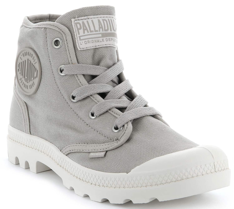 Palladium us Pampa 92352-068-m señora botas zapatos casual botas 92352-068-m Pampa gris NUEVO 314e97