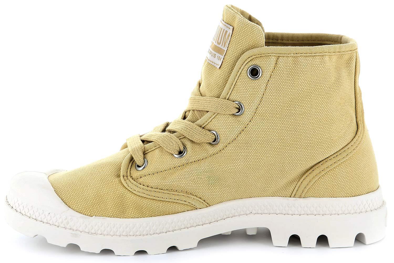 Palladium-EEUU-Pampa-Botas-mujer-Zapatos-Informales-92352-715-m-crudo-mostaza