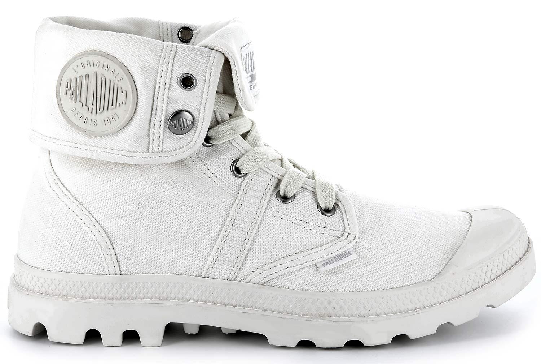 Palladium-EEUU-Baggy-Botas-mujer-Zapatos-Informales-92478-104-m-Blanco-Gris