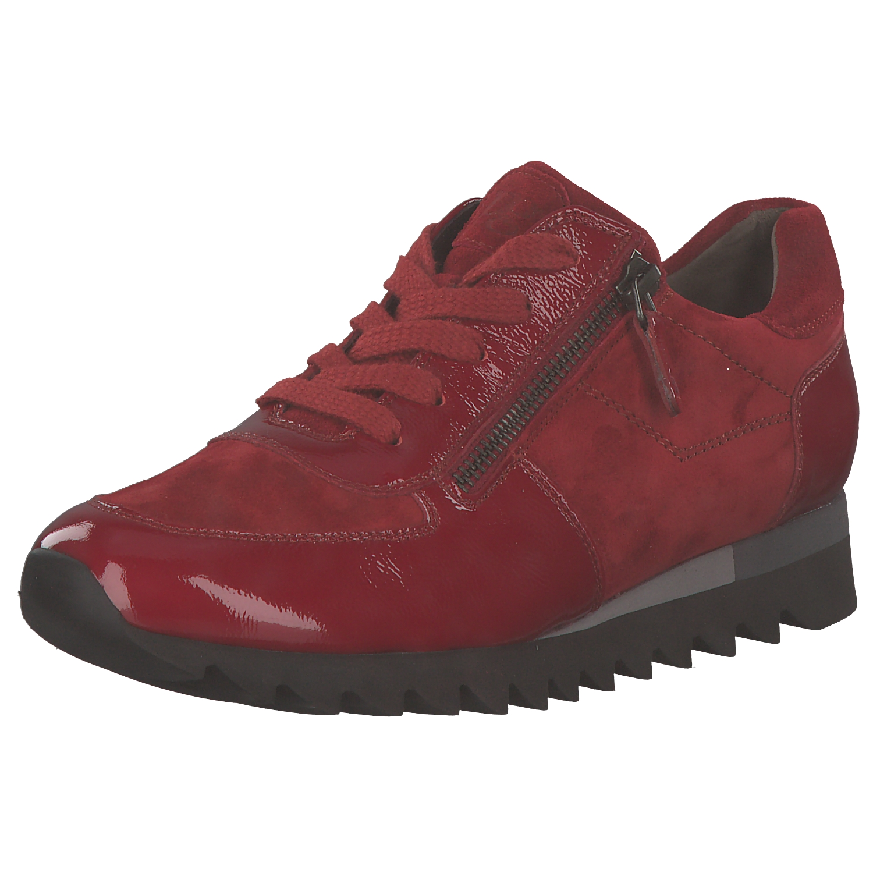 Paul Green Damen Sneakers Schnürschuhe Schnürer Halbschuhe 4685-073 Rot Neu