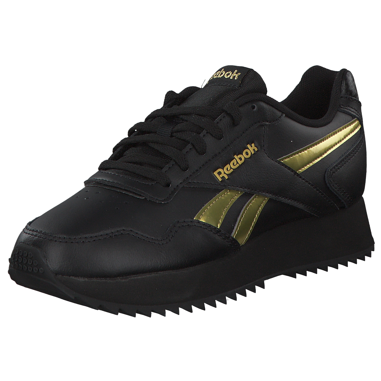 Details about Reebok Royal Glide Women's Sneakers Dv3847 Black Gold New