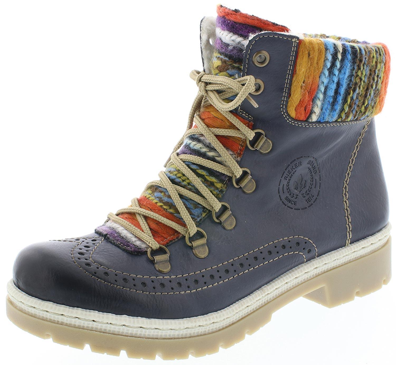 Rieker Damen Kurzstiefel Stiefel Stiefeletten Stiefel Y9431 Y9431 Stiefel 14 Blau 41117b
