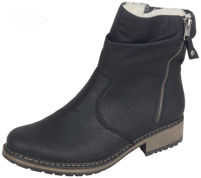 Rieker Damen Boot schwarz Z6841 01