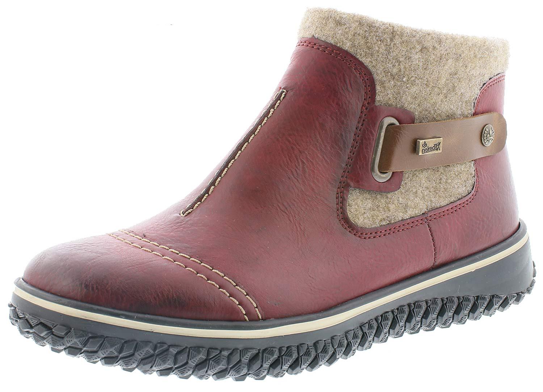 Sur Bottines Rieker Rouge Femmes Bottes Z4280 Détails 35 Chaussures D'hiver Neuf K13uFTJcl5
