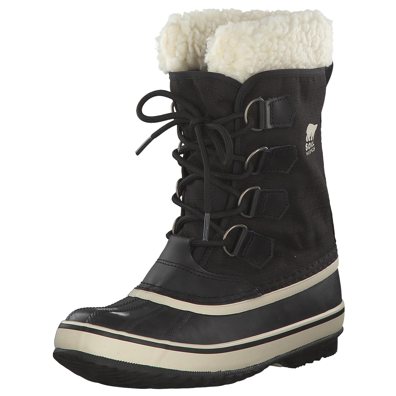 Sorel-Winter-Carnival-Damen-Stiefel-Winterstiefel-Boots-Nl1495-011-Schwarz-Neu