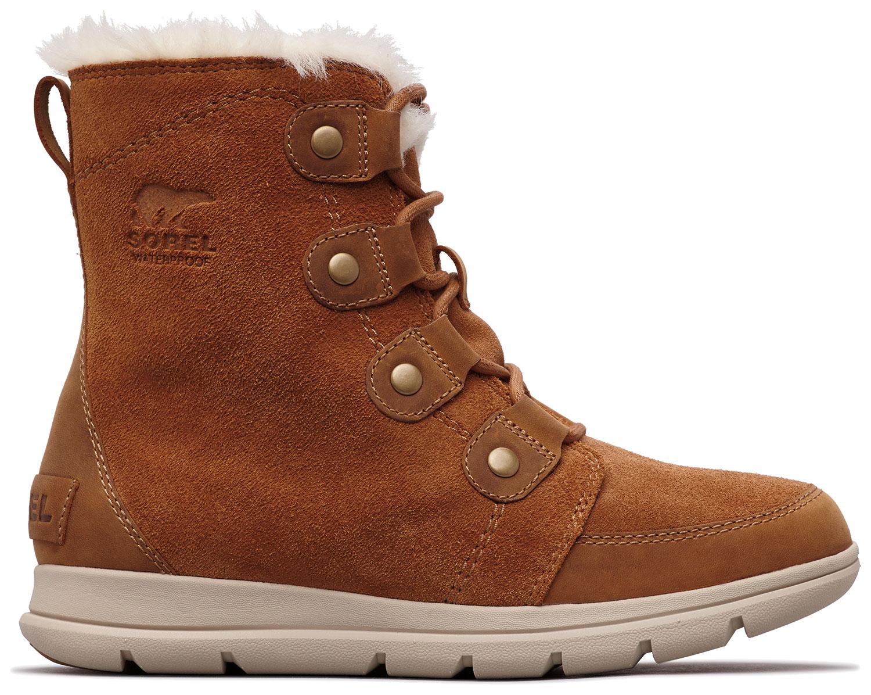 a5db2f157d79af Sorel Explorer Joan Damen Stiefel Stiefeletten Boots NL 3039-224 Braun Neu