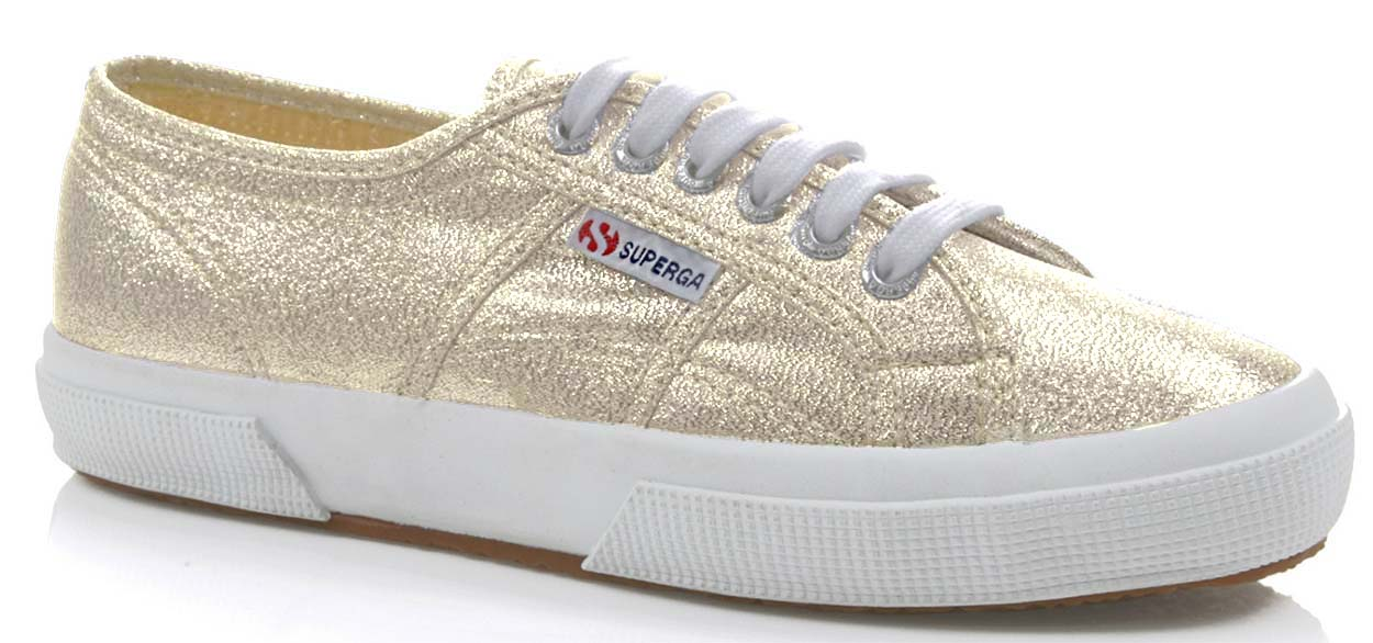 SUPERGA scarpe sneaker donna da Ginnastica COTU CLASSIC S001820 174 ORO