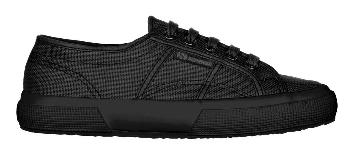 SUPERGA scarpe sneaker donna da Ginnastica COTU CLASSIC S997 totale NERO