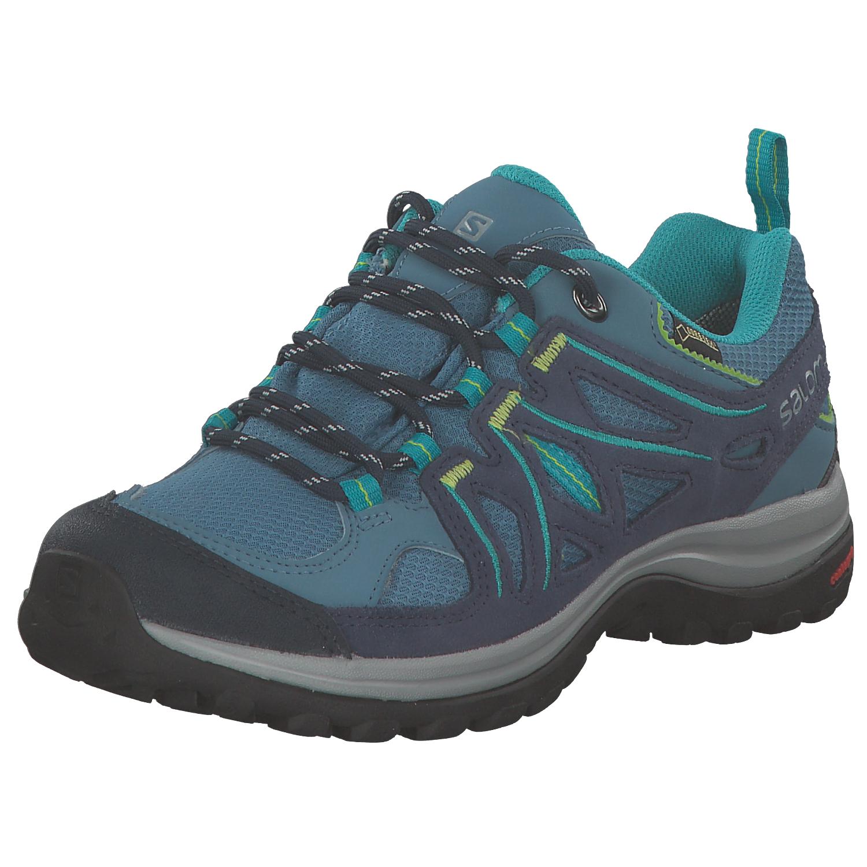 Salomon Damen Outdoorschuhe Laufschuhe Trekkingschuhe 378643 Blau Neu