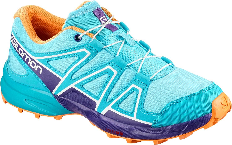 brand new 9fb6e f204e Details zu Salomon Speedcross Damen Sneakers Trekkingschuhe L40130500  Türkis Orange Neu