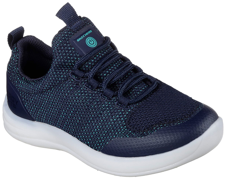 Details zu Skechers Energy Lights Kinder Sneakers Turnschuhe 90642l nvy Blau Navy Neu