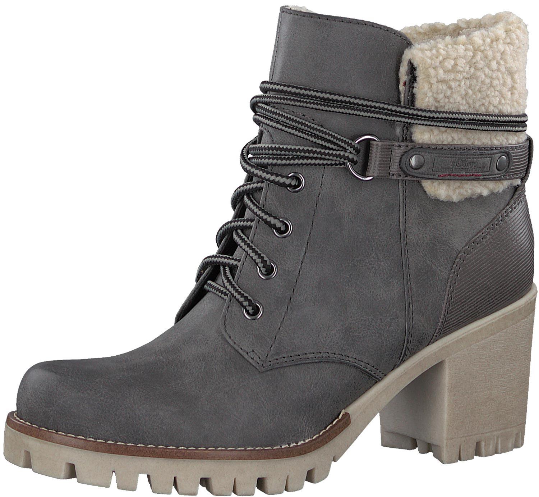 S.oliver Damen Stiefeletten Stiefel Boots 26115-29 216 Grau Graphite Neu