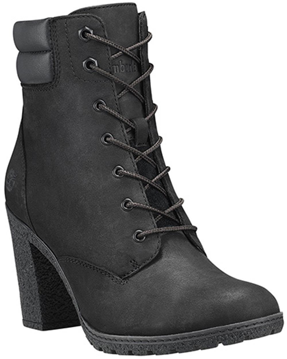 promo code 16098 13c96 Details zu Timberland Tillston Damen Stiefel Stiefeletten Boots Ca1h1i  Schwarz Neu