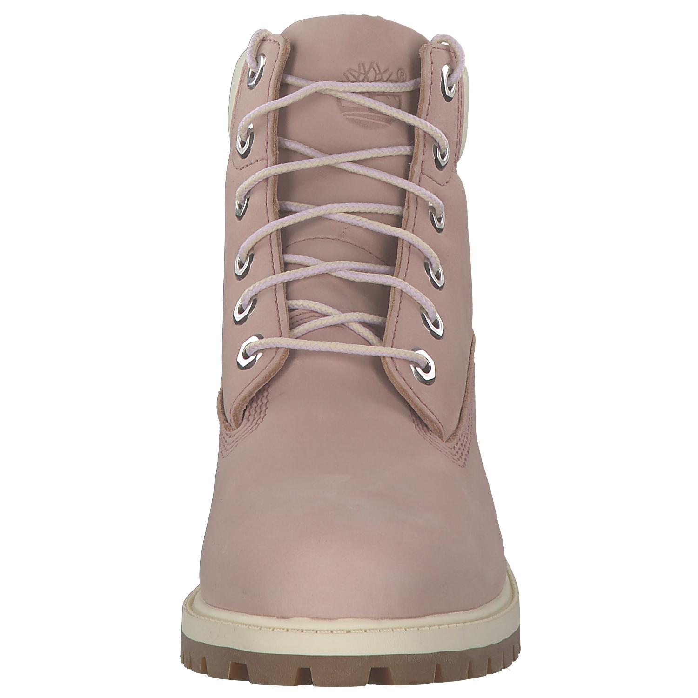 5718da647f9f99 Timberland 6in Prem Damen Stiefel Winterschuhe Boots C34992 Rosa Neu 6 6 di  8 ...